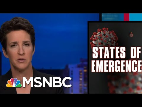 Months Into Coronavirus Crisis, Federal Response Has Not Improved | Rachel Maddow | MSNBC