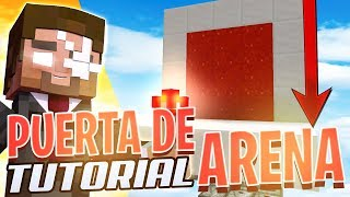 ¡Puerta de ARENA EXPANSIBLE! 1.14+ | Tutorial de Redstone
