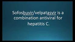 How to pronounce sofosbuvir / velpatasvir (Epclusa) (Memorizing Pharmacology Video Flashcard)