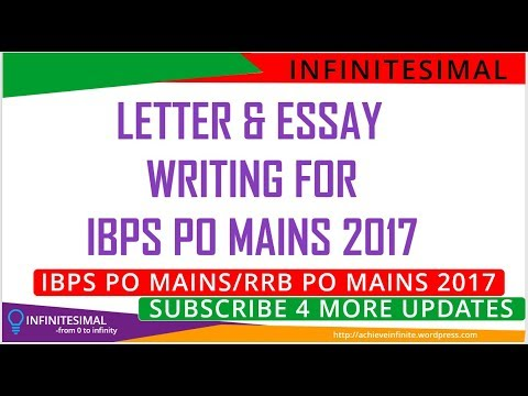 letter writing essay writing for ibps po mains  letter writing essay writing for ibps po mains 2017