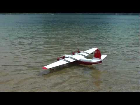 Martin JRM Mars - A Huge Four-engined Rc Seaplane