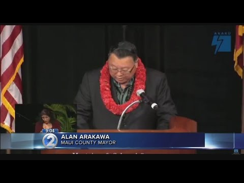 Maui mayor delivers State of the Country address