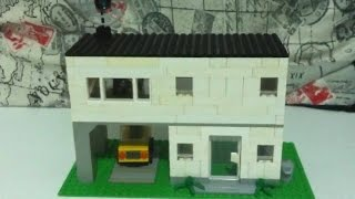 Como construir uma casa simples de Lego - parte 3