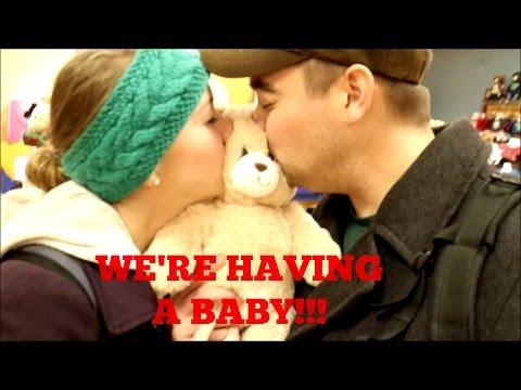 Best pregnancy announcement video ever!!