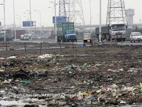 Загрязнение почвы в Китае -- «государственная тайна»