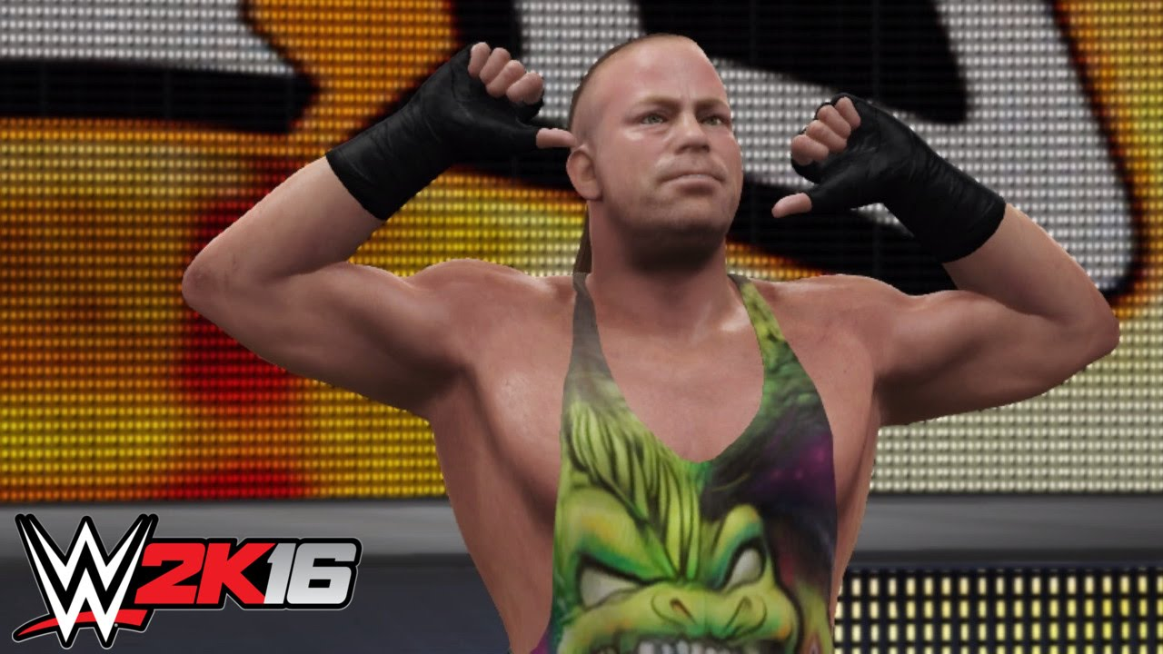 Wwe 2k16 pc mods the whole f 39 n show rob van dam all - Wwe rvd images ...
