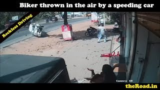 Accident caught on CCTV Camera  | Bike accidents