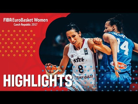 Latvia v Italy - Highlights - FIBA EuroBasket Women 2017