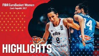 Latvia v Italy - Хайлайты - FIBA EuroBasket Women 2017