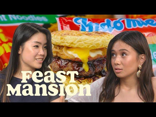 NIKI and Inga Lam Share Indomie Noodle Hacks   Feast Mansion