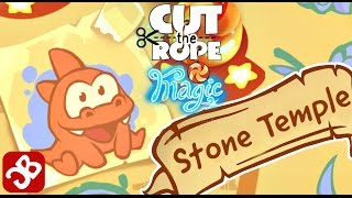 Cut the Rope: Magic - Stone Temple (By ZeptoLab) - 3 Star Walkthrough