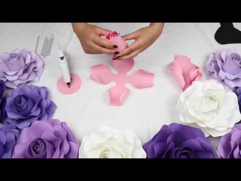 DIY Rose Tutorial (Medium Size Rose)