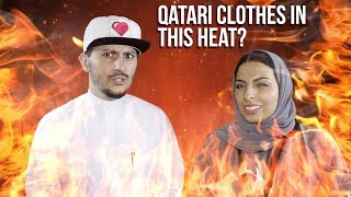 #QTip: How hot does it get to wear a traditional Qatari dress under the extreme summer heat?!