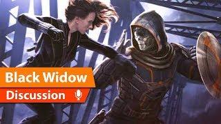 Black Widow First look at Taskmaster & Film Details Revealed