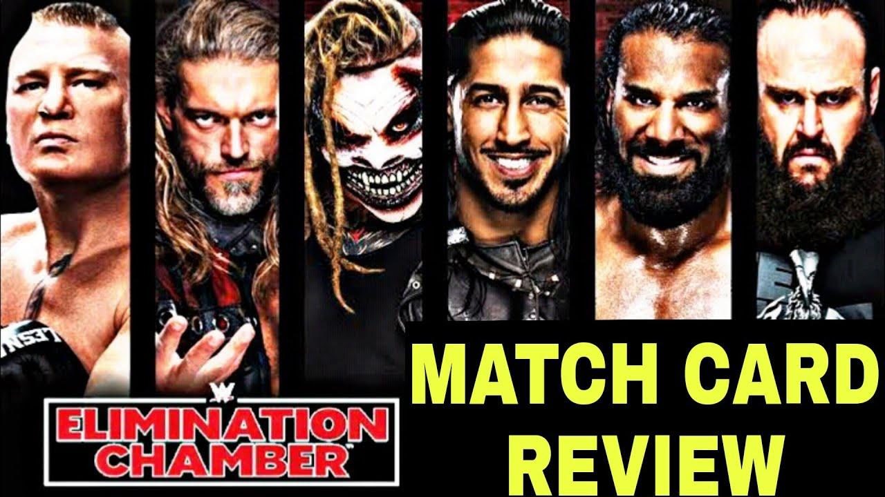 Raw & Smackdown Elimination Chamber 2021 Full Show - WWE Women's Elimination  Chamber 2021 Highlights - YouTube