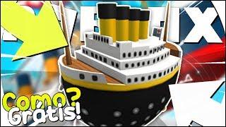COMO GANHAR o EGG TITANIC no ROBLOX - Roblox Titanic [Eggtanic] [Egg Hunt]
