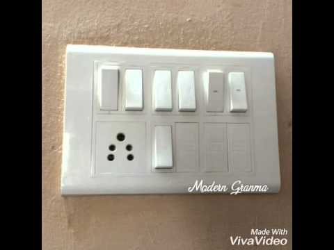 Easy And Effective Way To Clean Your Wall Switch Board