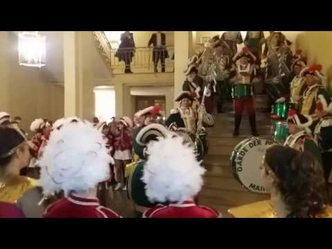 Garde der Prinzessin Mainz - Trommlerzug. 21.1.2017 Prunksitzung MNC