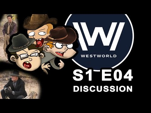 WESTWORLD s1 e04 Discussion with StS