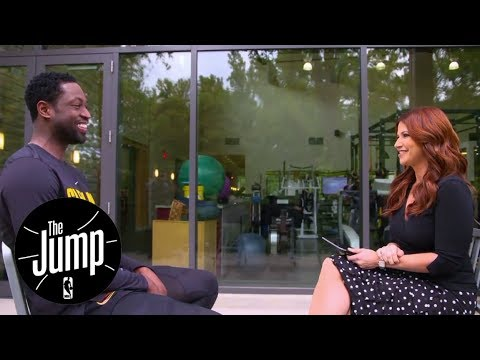 Dwyane Wade sits down for exclusive  with Rachel Nichols  The Jump  ESPN