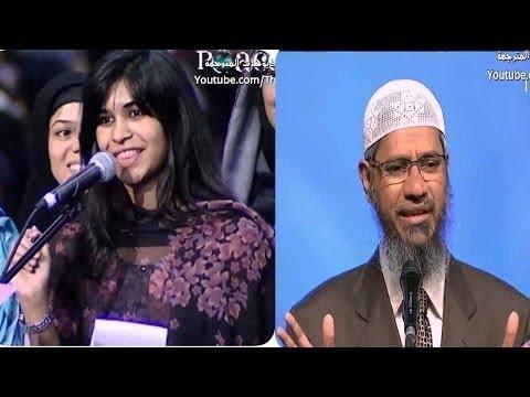 فتاة أجنبية تقول للشيخ أثبت لي أن الإسلام هو الحق وسأعلن إسلامي الآن! شاهد النهاية المؤثرة