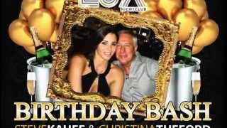ICTV1 PALM BEACH NIGHTLIFE STEVE KAUFF & CHRISTINA'S BIRTHDAY LUX NIGHTCLUB PALM BEACH GARDENS