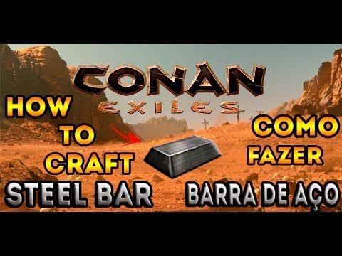 conan exiles how to get hardened brick
