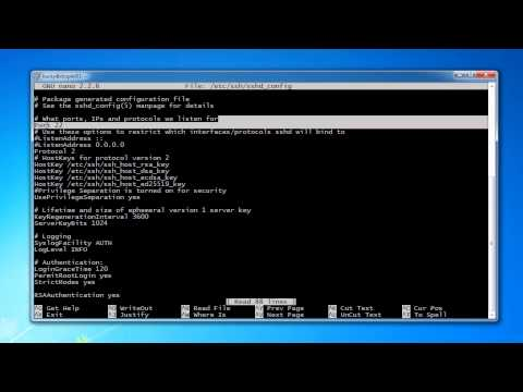 Computer Networking Tutorial - 30 - Changing the Default SSH Port