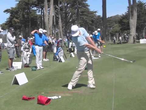 Charlie Hoffman golf swing face on 2015 WGC Match Play