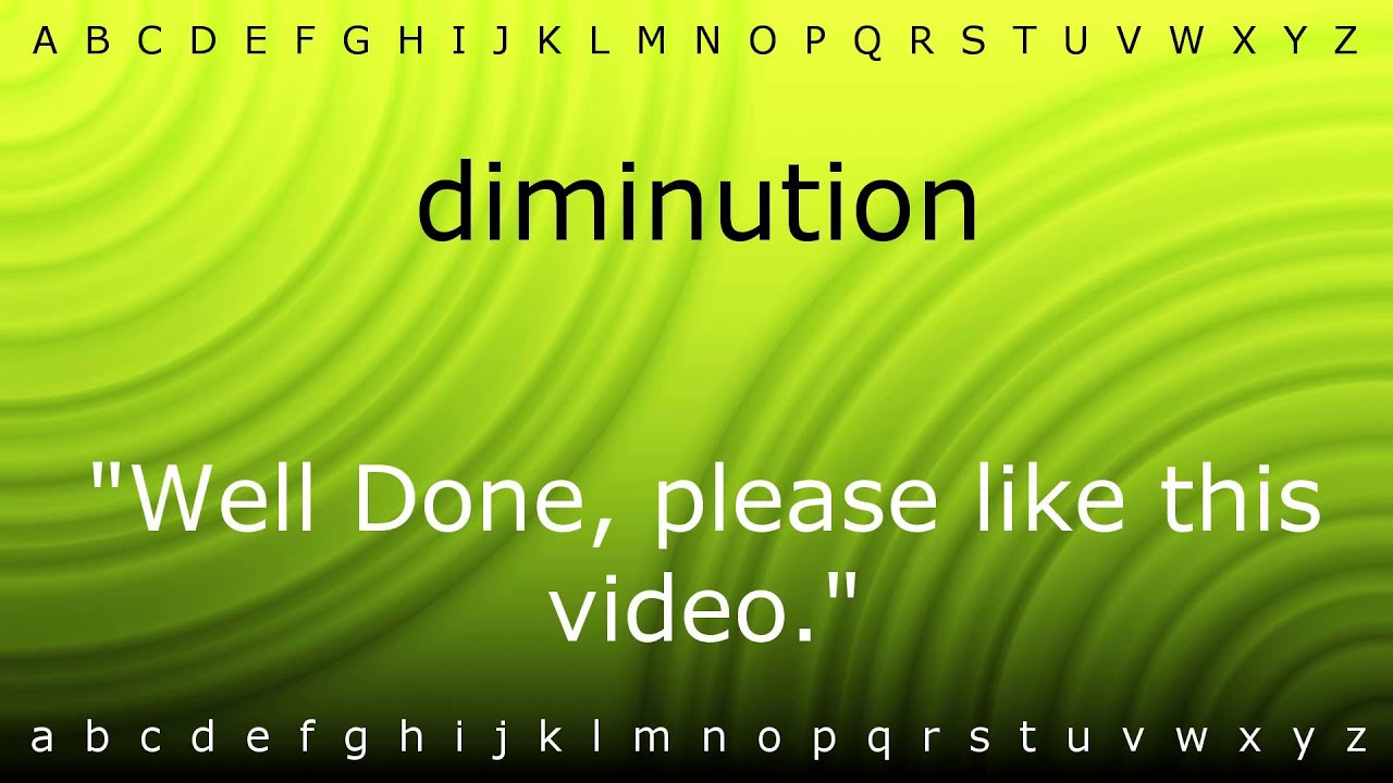 Here I Will Teach You How To Pronounce U0027diminutionu0027 With Zira.mp4