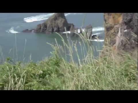 Cape Split tides rushing in