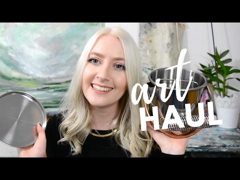 ART HAUL Painting Supplies I Love | Katie Jobling Art