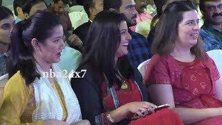 Actor Sarath Kumar Daughters Varalaxmi, Pooja & Rayanne Hardy attended ASK App launch | nba 24x7