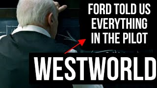 WestWorld Season 2 Episode 8 Kiksuya  - Ford told us everything in The Pilot