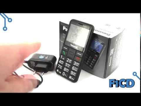 Panasonic KX TU150RU: видеообзор телефона