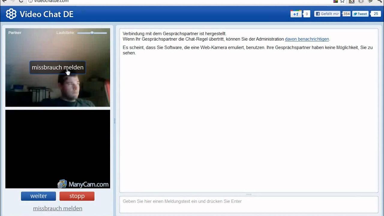 eins zu eins Video-Chat