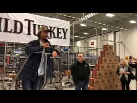 Matthew McConaughey on WILD TURKEY!!!AMAZING!!!