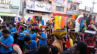 Inicio Carnaval Jiutepec Morelos 2015