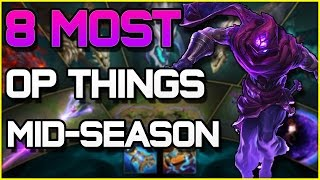 8 MOST OP THINGS in the Mid-Season Update (Patch 6.9) | League of Legends