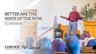 Fairview Mennonite church Sunday Service: Sunday, February 14th, 2021 - Phil Schrock