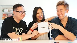 diyana of traxxfm unboxes the htc one a9