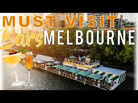 BEST Bars In MELBOURNE (TOP 7)