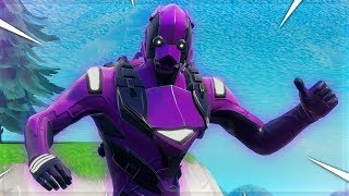 I left FILL on with new DARK VERTEX skin! (Fortnite: Battle Royale)