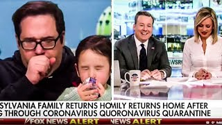 Father Released From Coronavirus Quarantine Can't Stop Coughing On Fox News