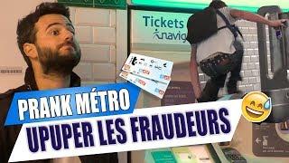 Prank : Upupuper les fraudeurs dans le métro !