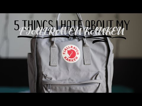 5 Things I Hate About my Fjallraven Kanken Backpack