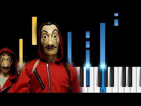 La Casa de Papel (Money Heist) - Intro Theme - Piano Tutorial