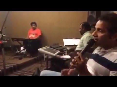 Pacha Bottesi Rehearsal For KME USA Tour 2016 | Singer Karthik