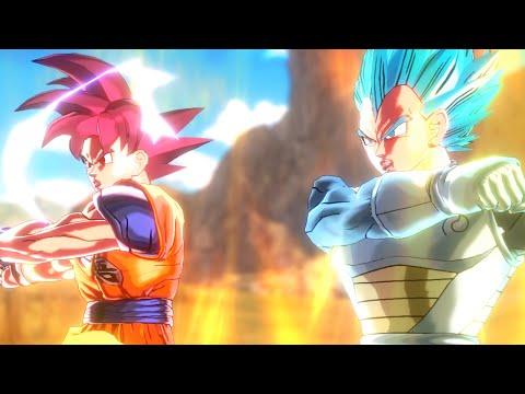 SSG Goku + SSGSS Vegeta Fusion = ?!