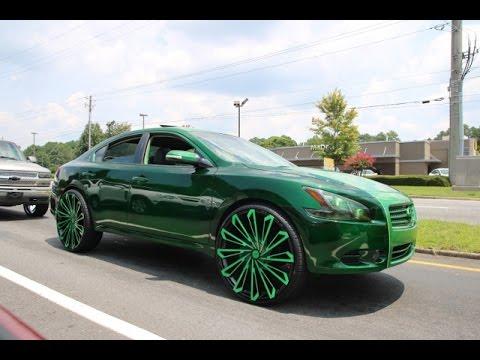 Whipaddict Kandy Green Nissan Maxima On 469 Sks Starr